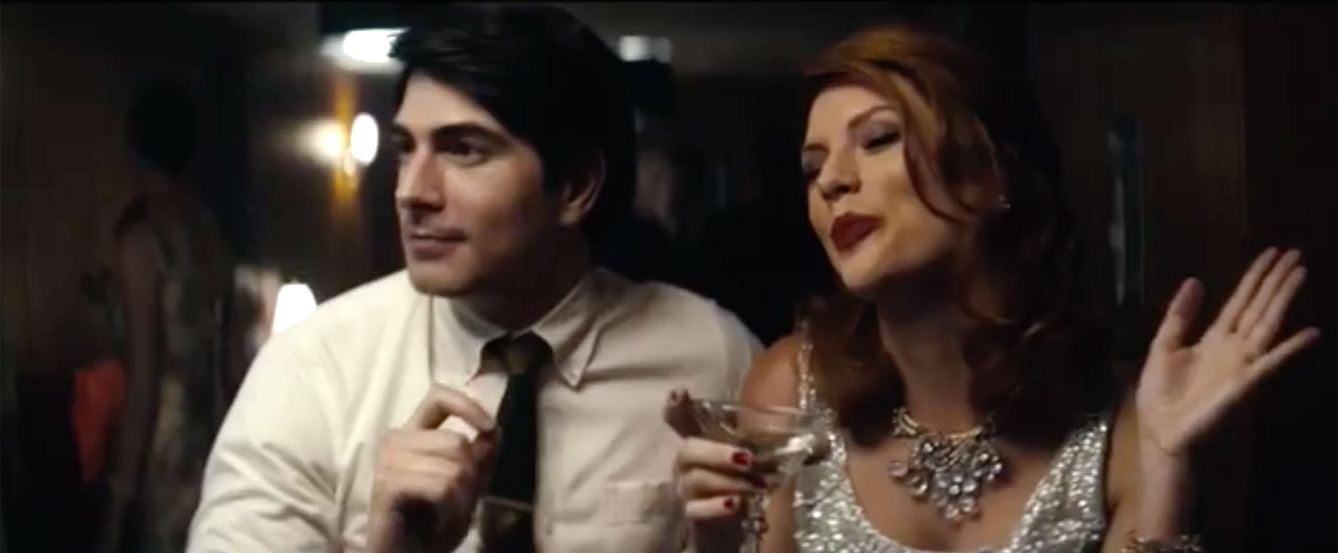 "Brandon Routh and Taylor Swift in Sugarland's ""Babe"" music video"